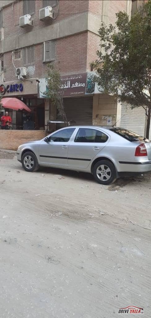 سكودا اوكتافيا  A5 مستعملة للبيع فى مصر 2008