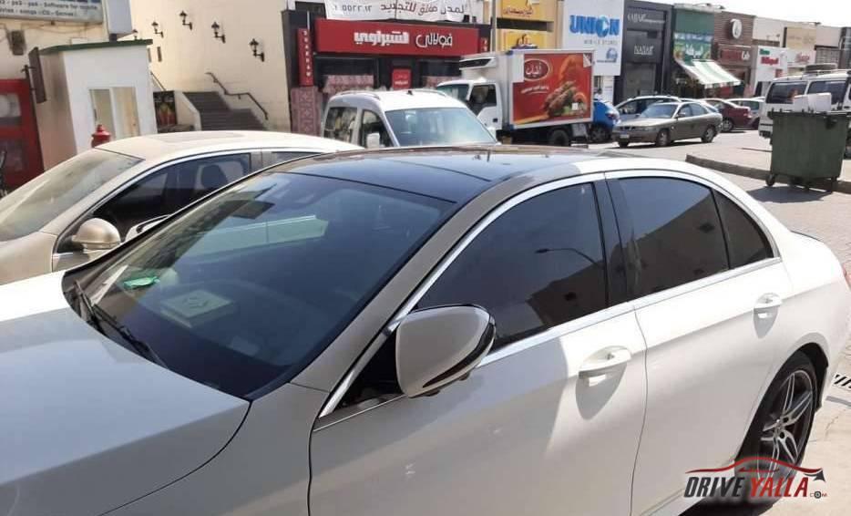 مرسيدس  e180AMG  مستعملة للبيع فى مصر 2018