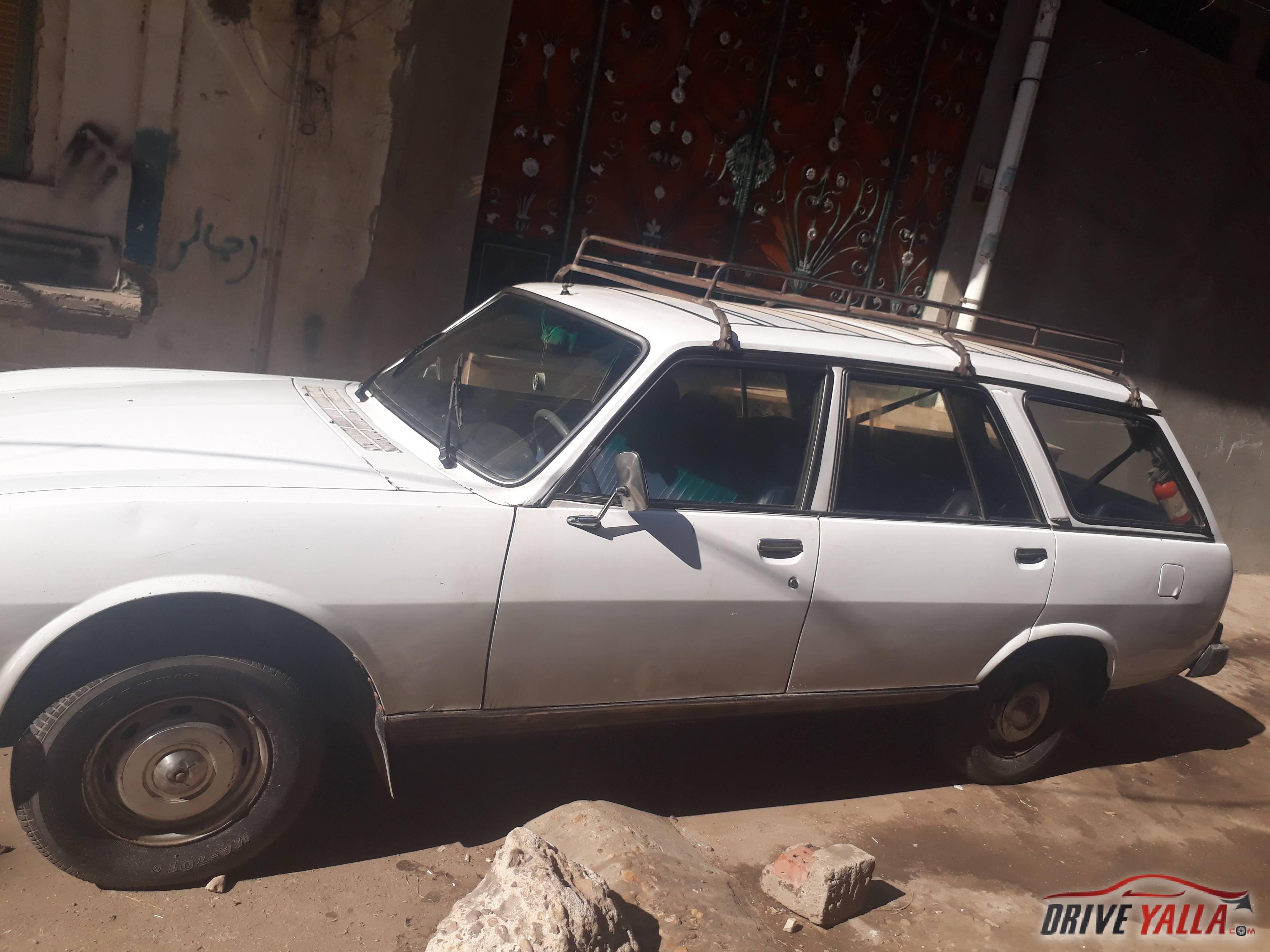 بيجو 504 مستعملة للبيع فى مصر 1984