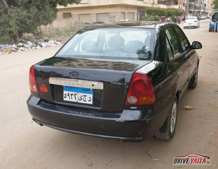 هيونداى فيرنا مستعملة للبيع فى مصر 2006