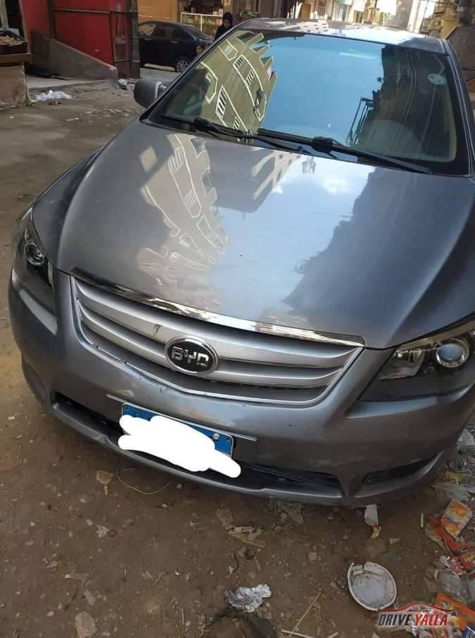 عربية  byd l3 مستعملة للبيع فى مصر بالتقسيط 2017