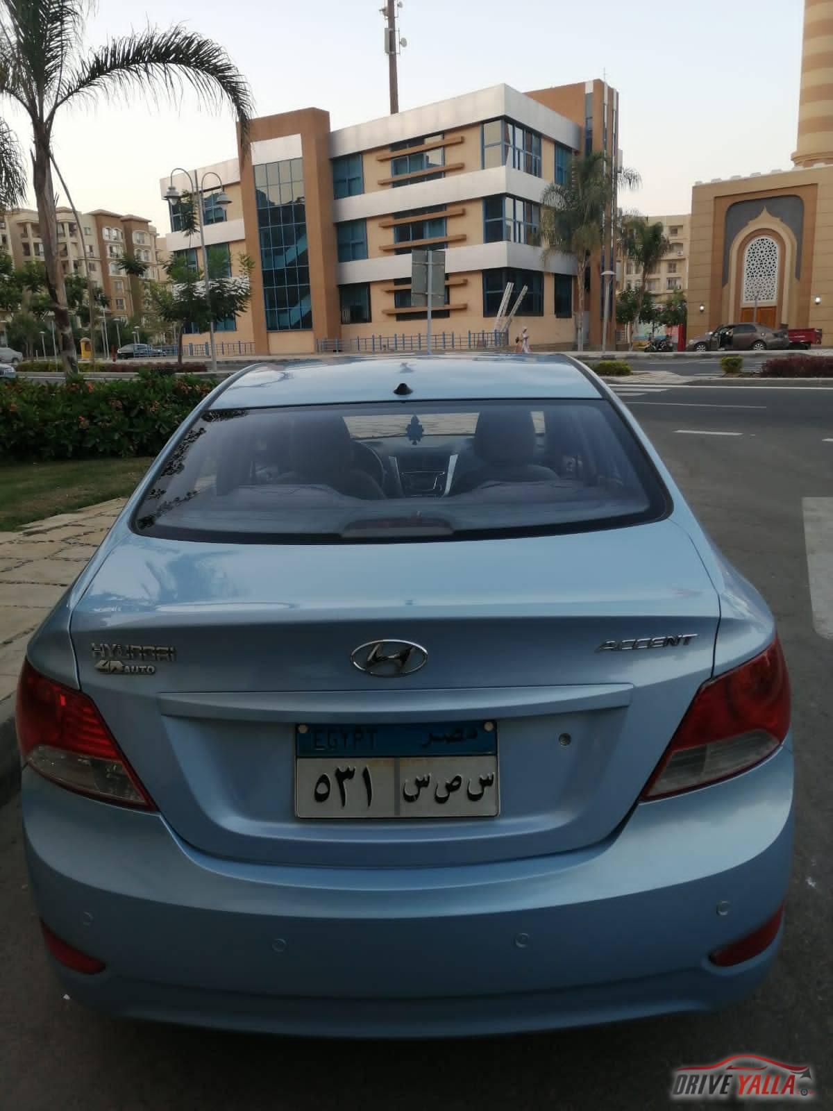 هيونداي RB مستعملة للبيع فى مصر  ٢٠١٢