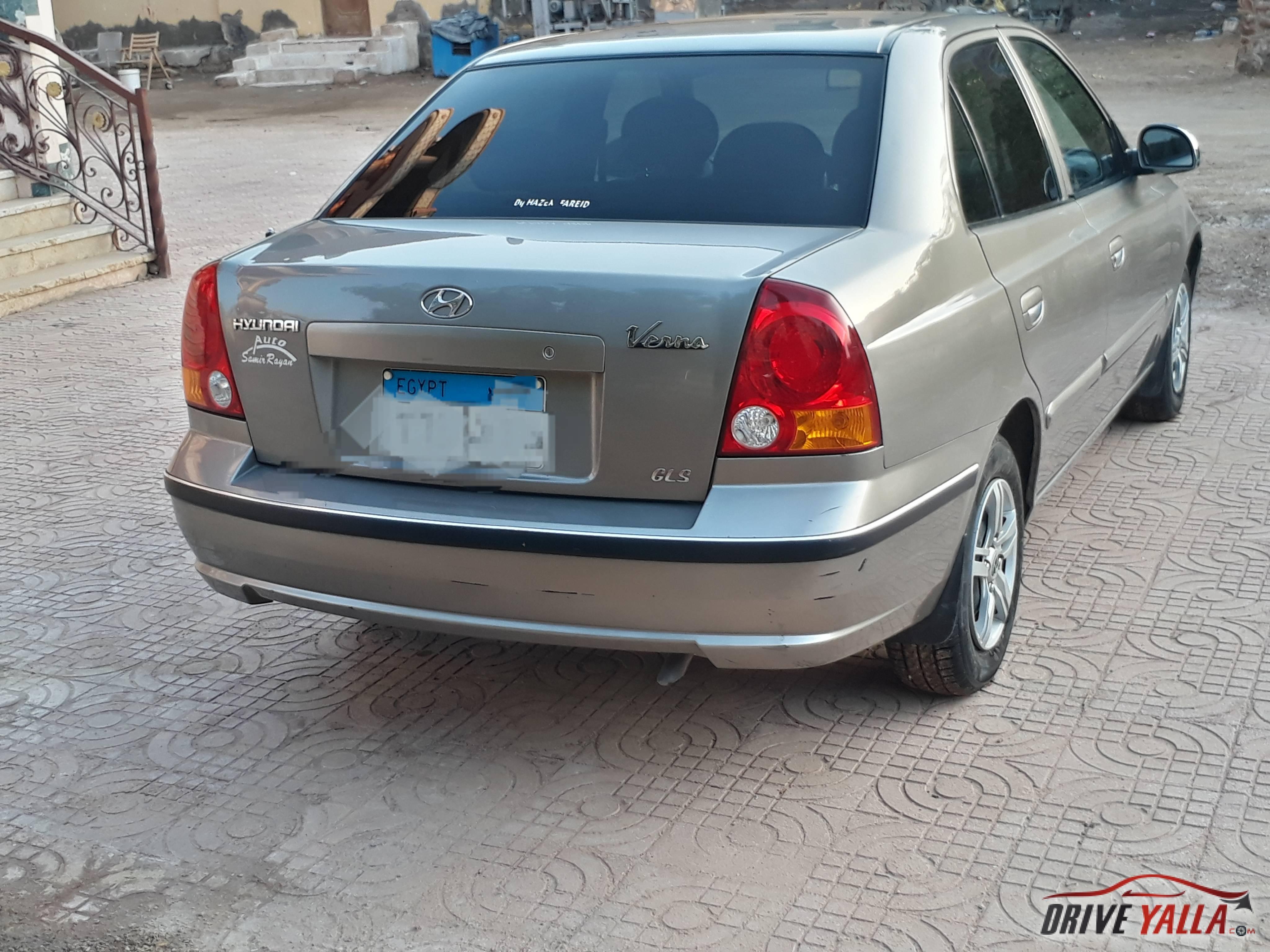 العلامة سيارات هيونداي فيرنا للبيع في مصر أفضل الصور