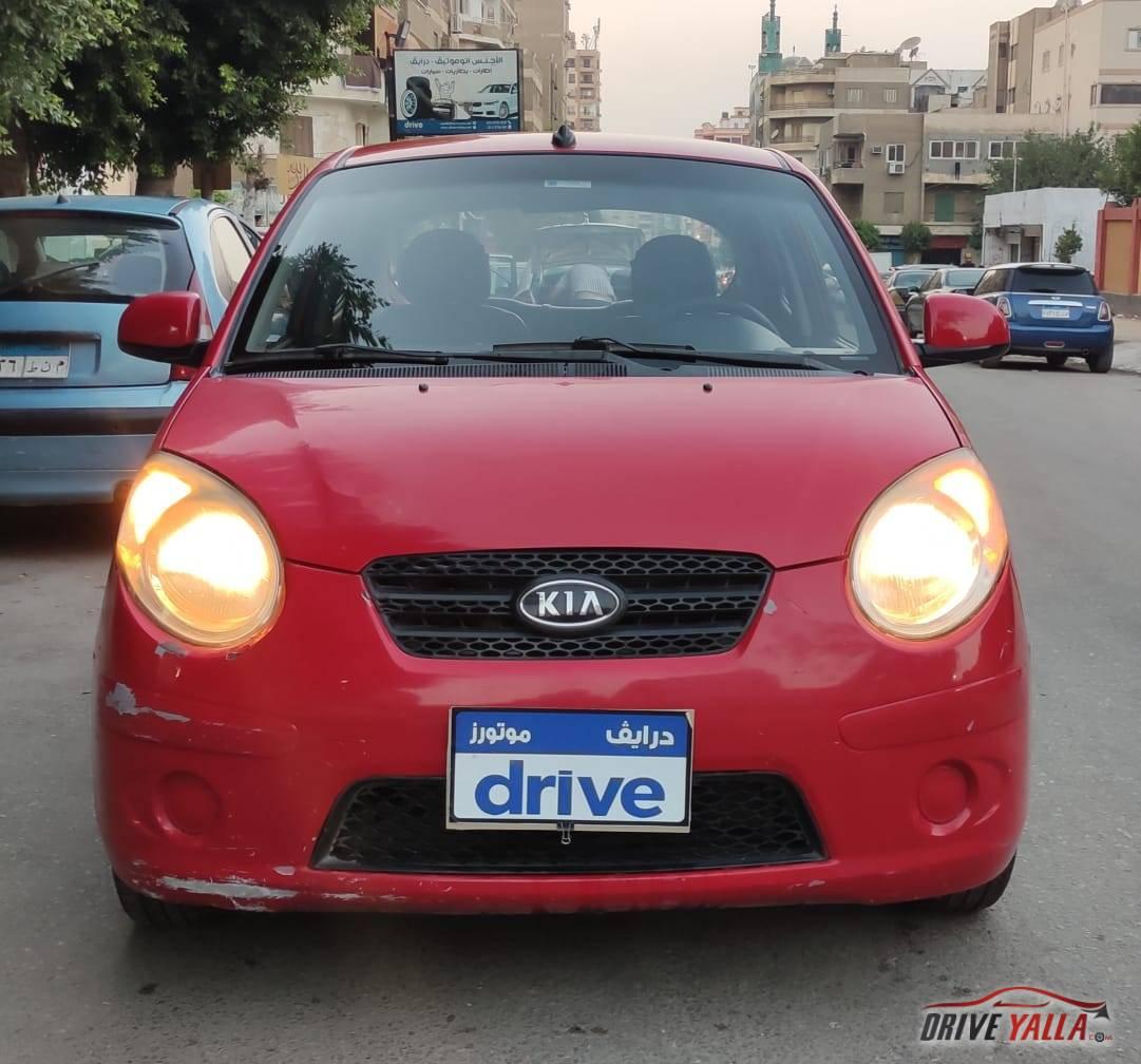 كيا بيكانتو  مستعملة للبيع فى مصر 2011
