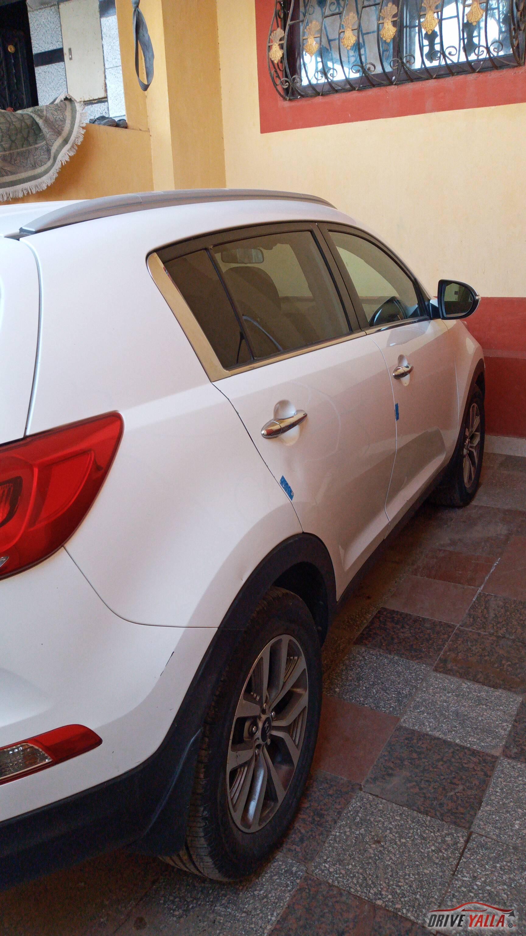 كيا سبورتاج مستعملة للبيع فى مصر بالتقسيط 2015