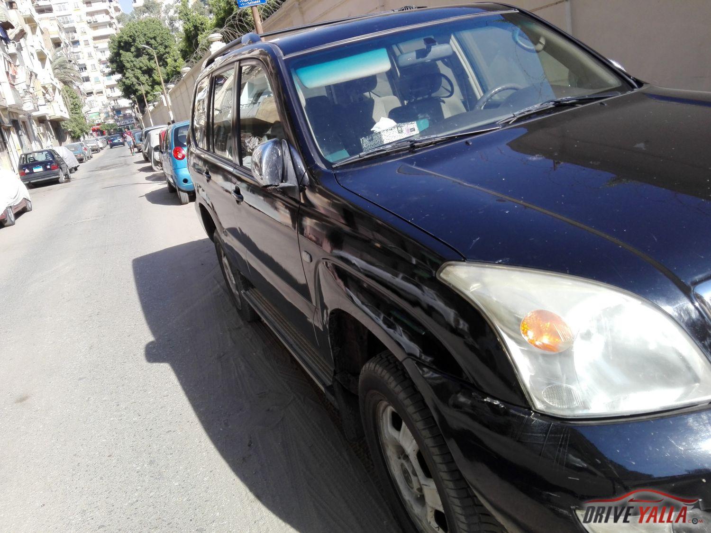سيارة لقطة  اتوبيس خاص تويوتا برادو لدواعي السفر