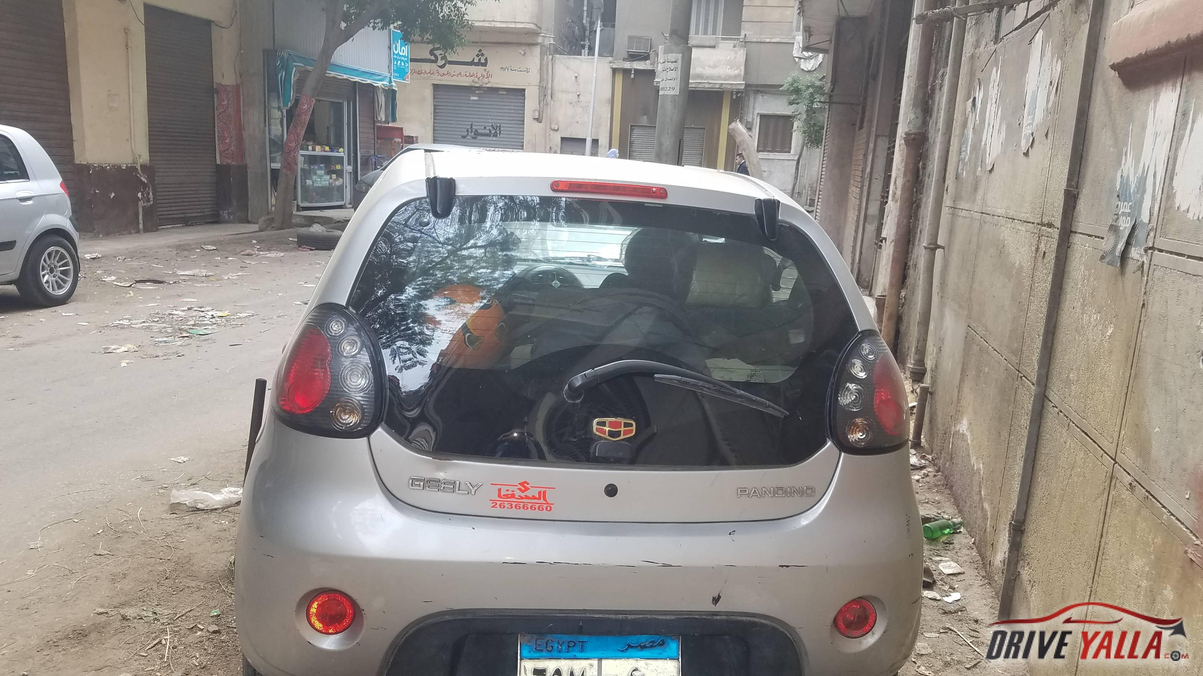 جيلي باندينو مستعملة للبيع فى مصر 2015