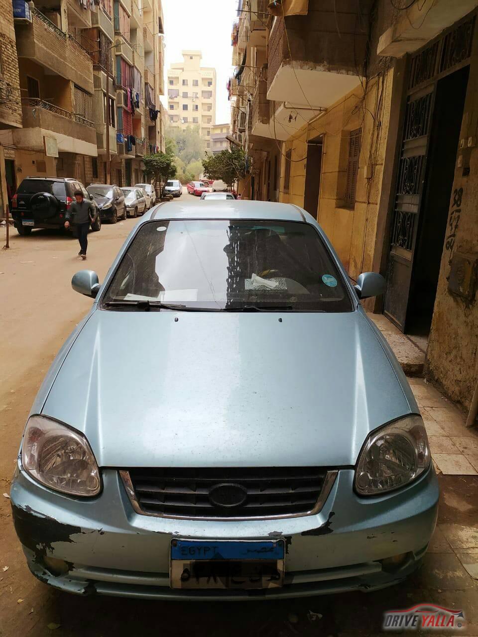 هيواندى فيرنا مستعملة للبيع فى مصر 2006