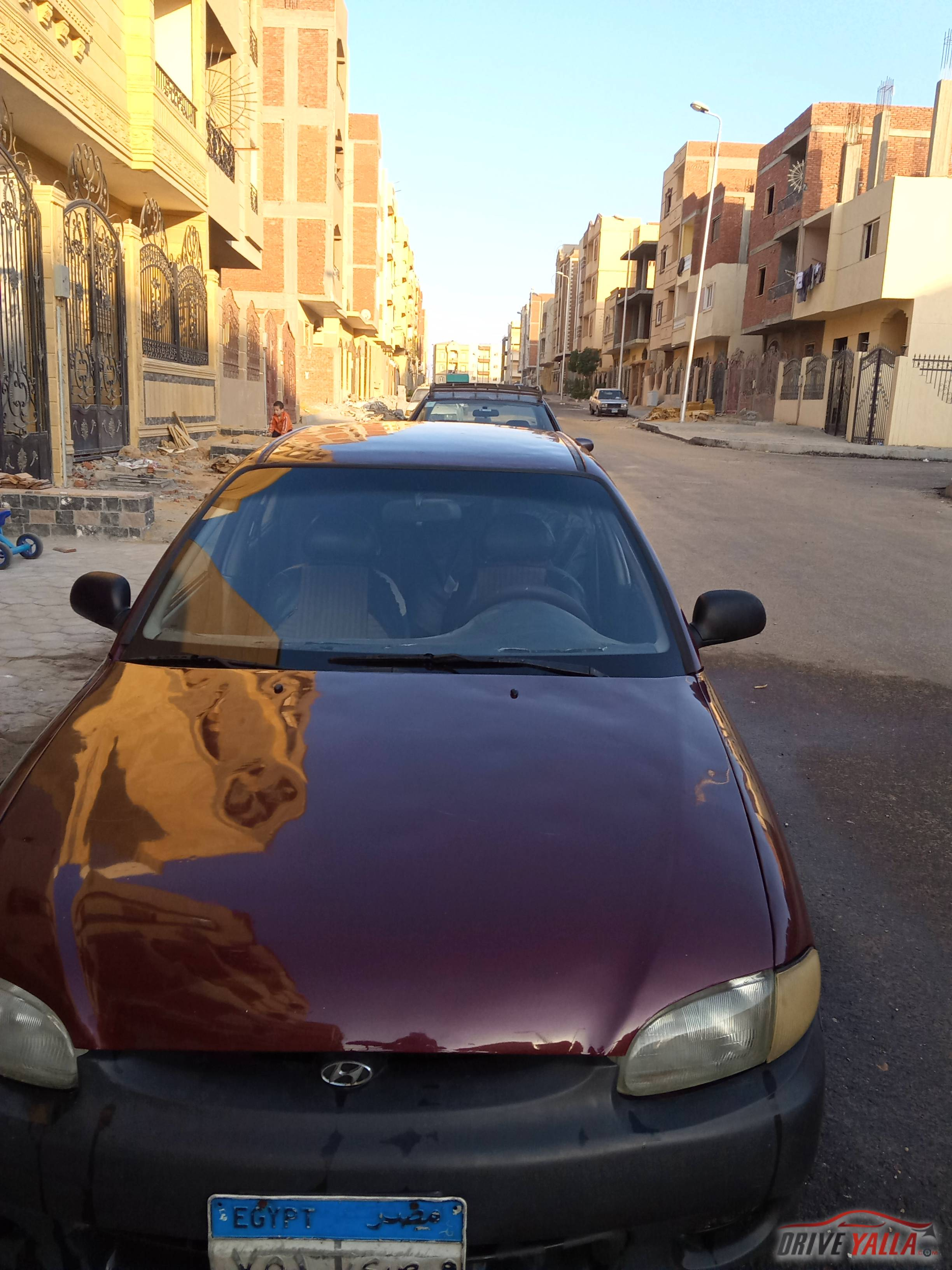 هيونداى اكسنت  مستعملة للبيع فى مصر  2000