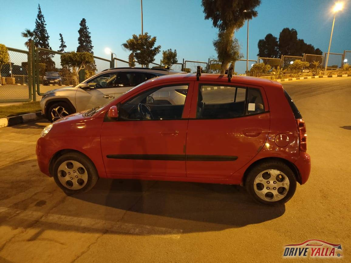 كيا بيكانتو  مستعملة للبيع فى مصر 2010