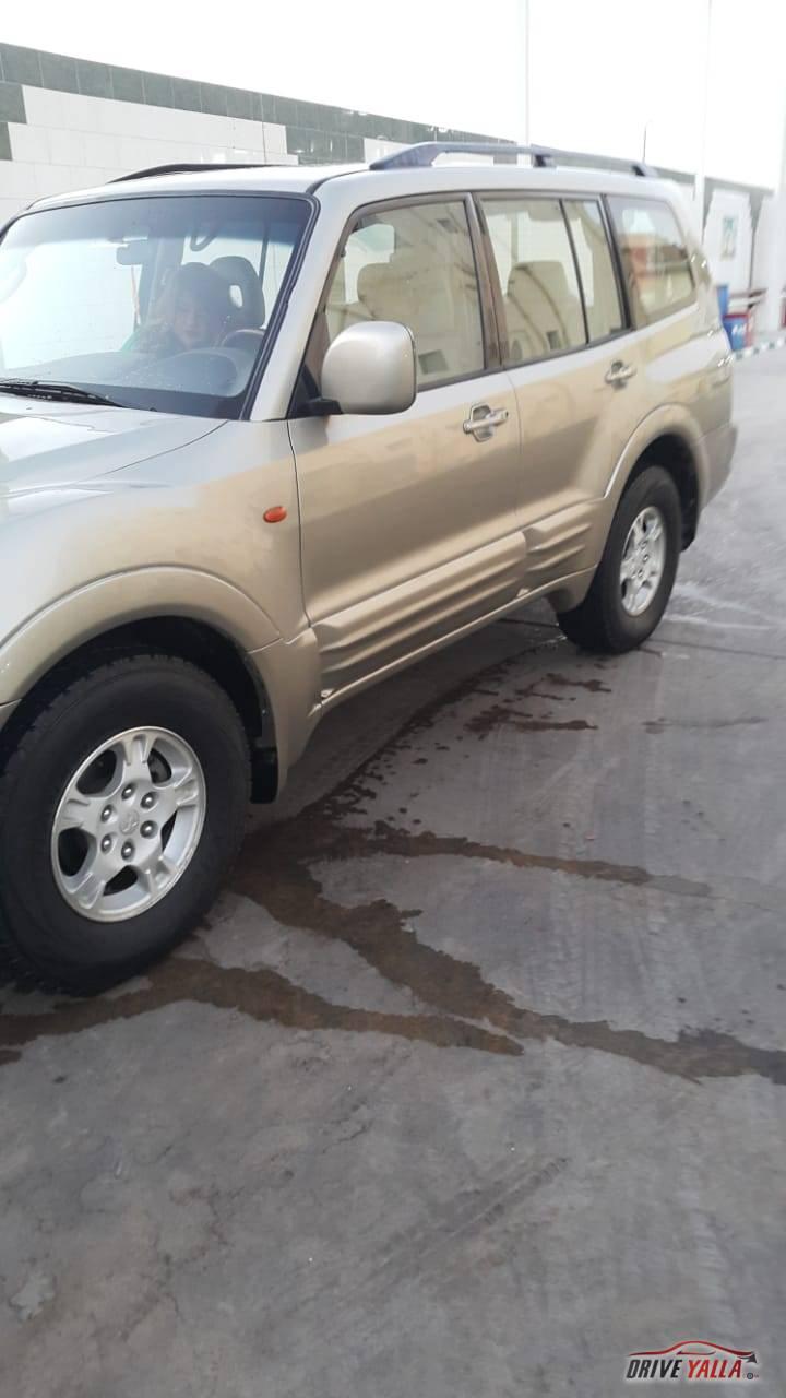 ميتسوبيشى باجيرو مستعملة للبيع فى مصر 2001