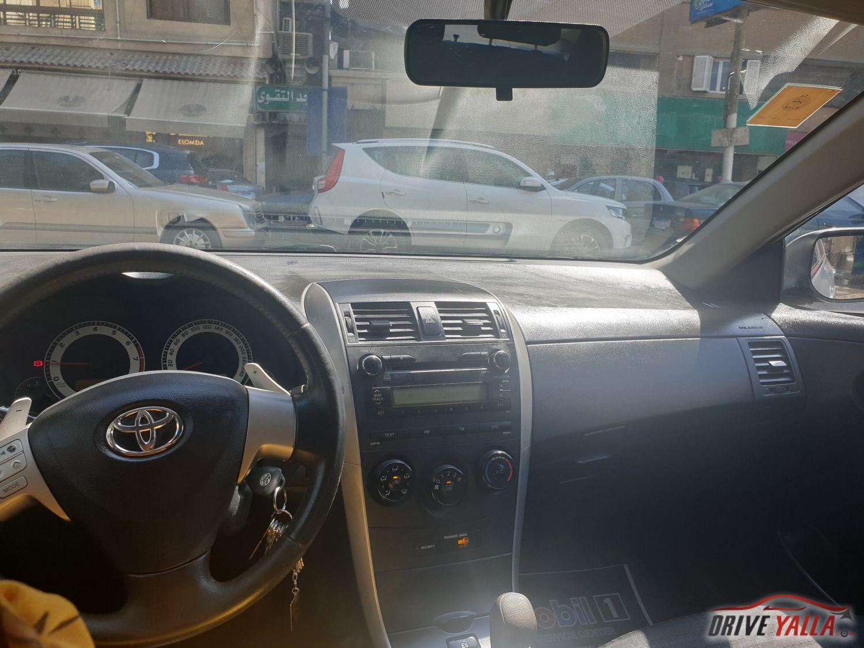 تويوتا كورولا  مستعملة للبيع فى مصر 2009