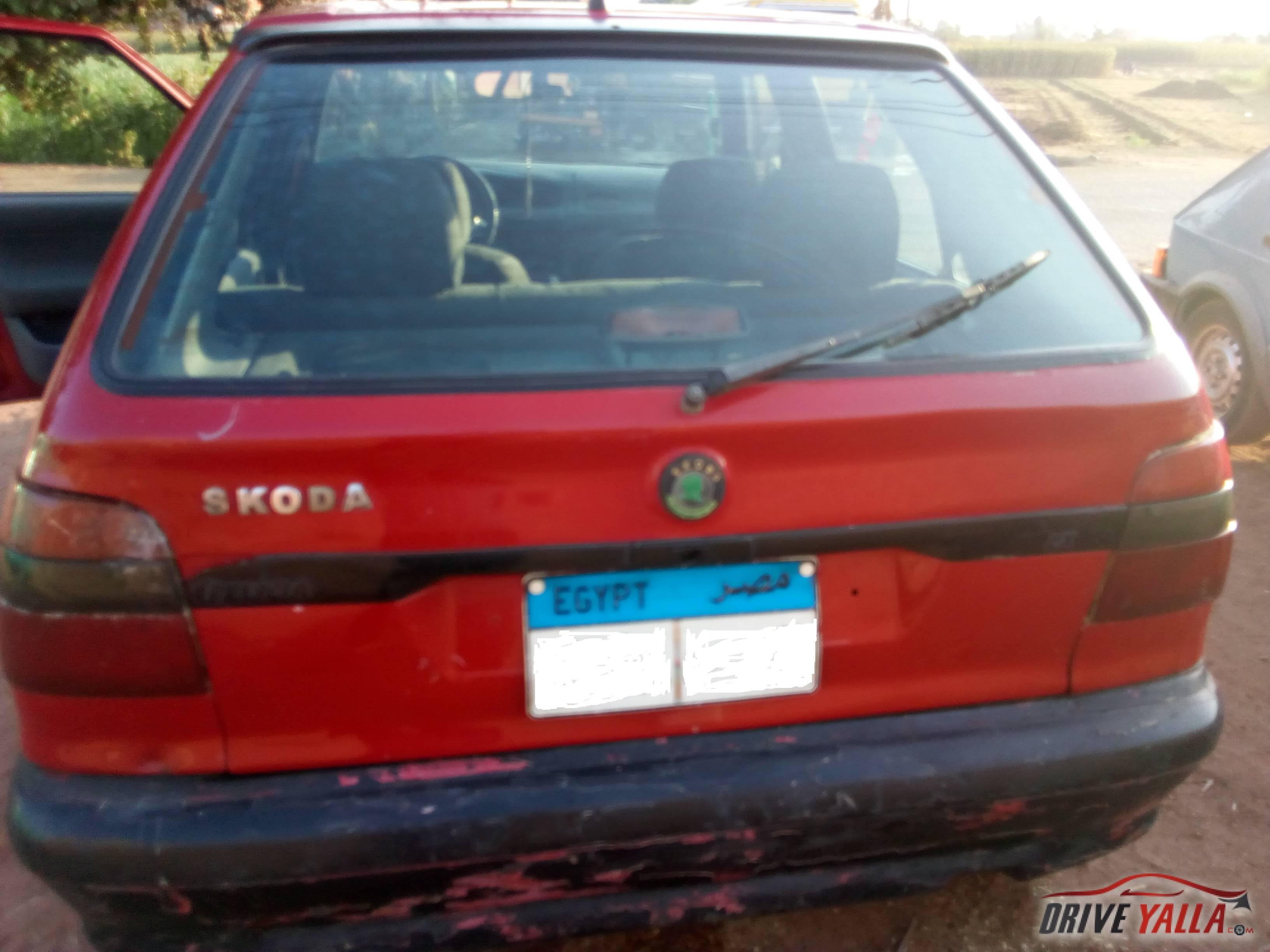 سكودا فيليشيا مستعملة للبيع فى مصر  موديل 1996