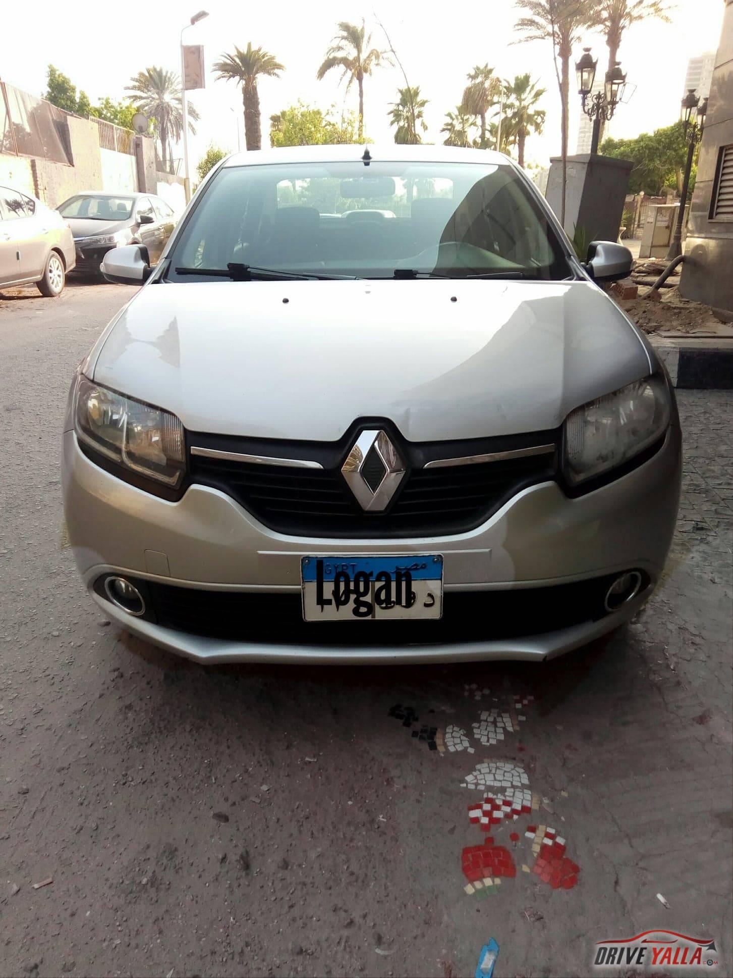 رينو لوجان مستعملة للبيع فى مصر 2016