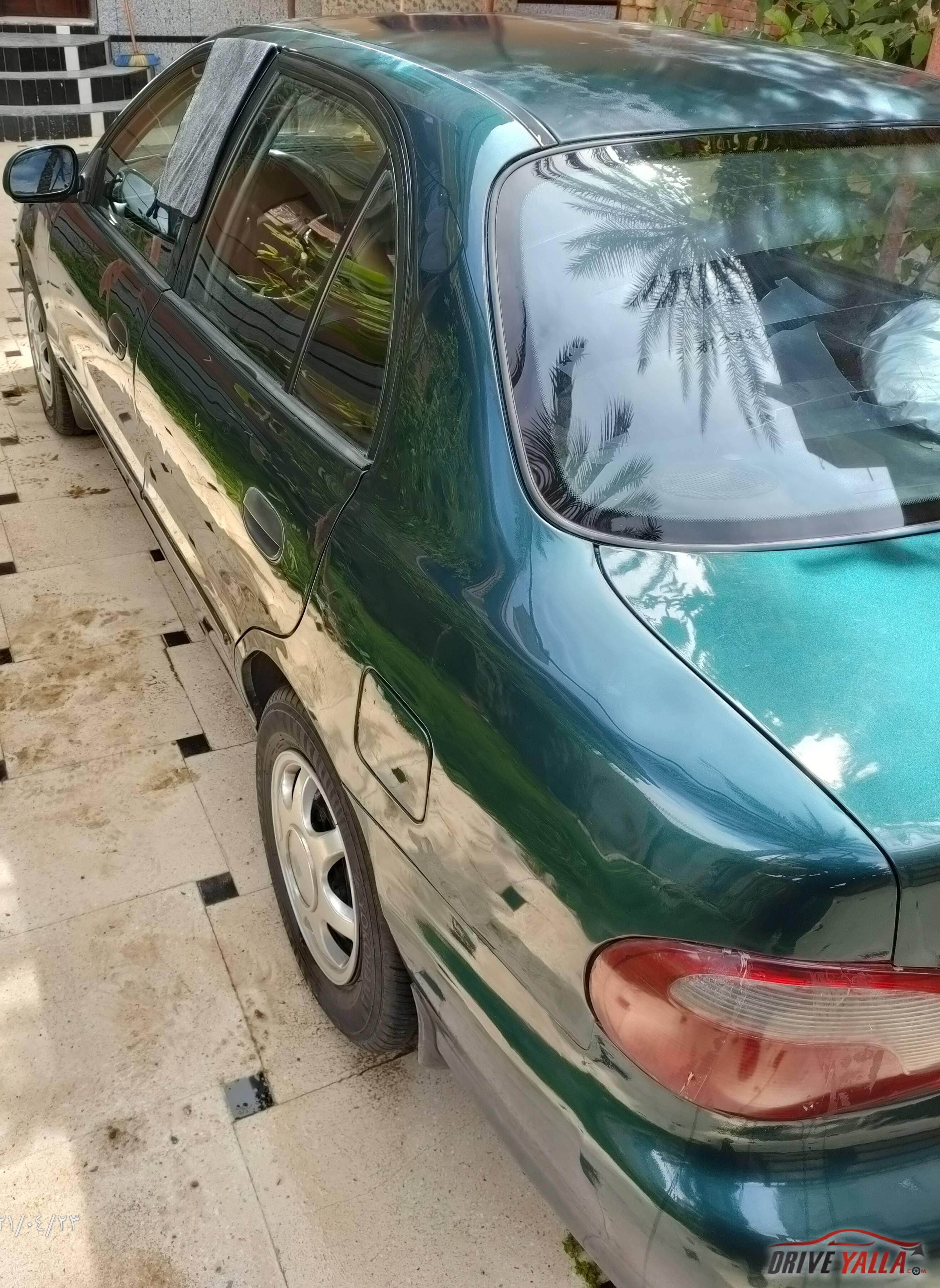هيونداي اكسنت مستعملة للبيع فى مصر موديل 2002