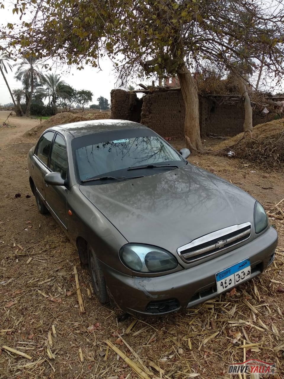 شيفرولية  لانوس  مستعملة للبيع فى مصر  ٢٠٠٩