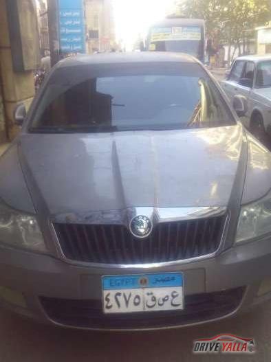 سكودا أوكتافيا  مستعملة للبيع فى مصر 2013