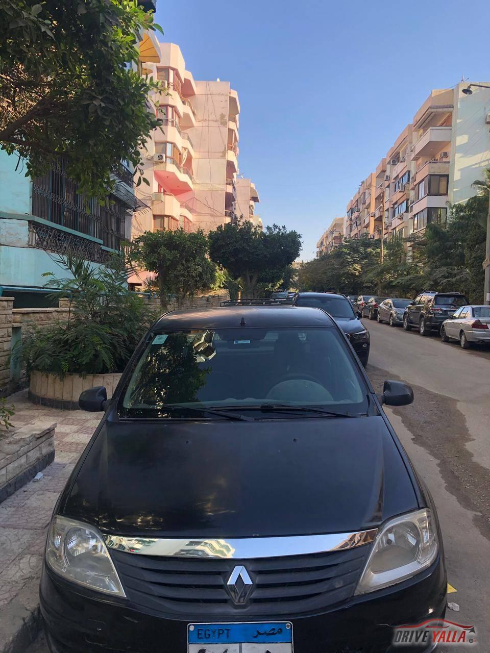رينو لوجان مستعملة للبيع فى مصر مانيوال   2012