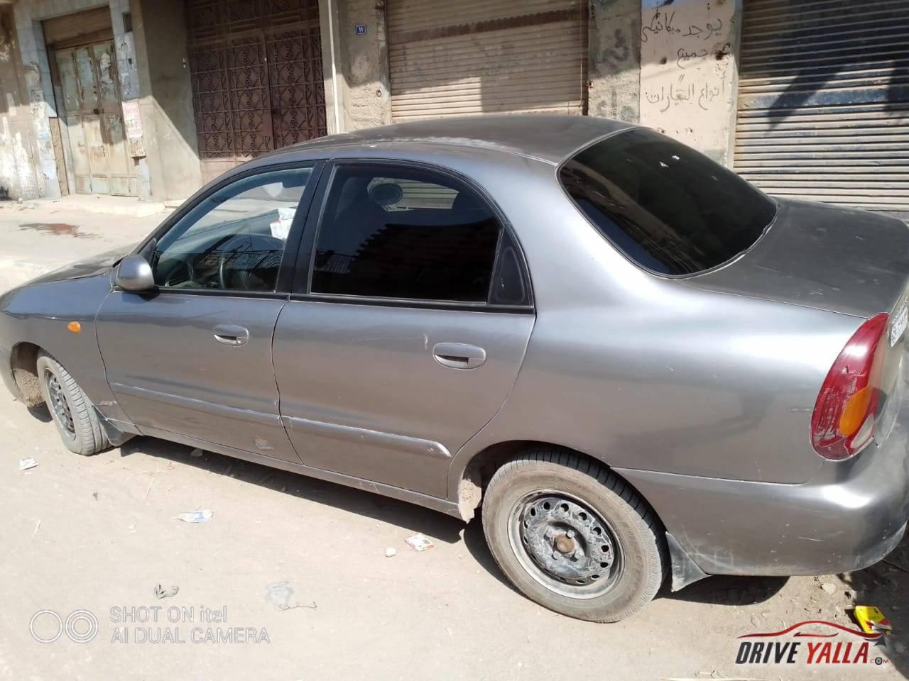 شيفرولية لانوس مستعملة  للبيع فى مصر موديل 2015