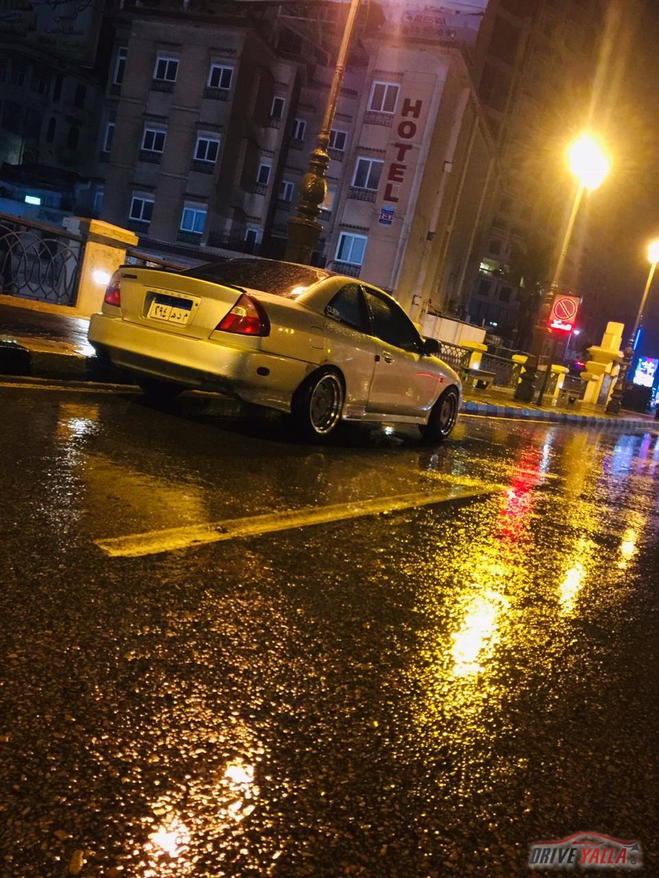 سياره ميتسوبيشي ميراج كوبيه فضي للبيع