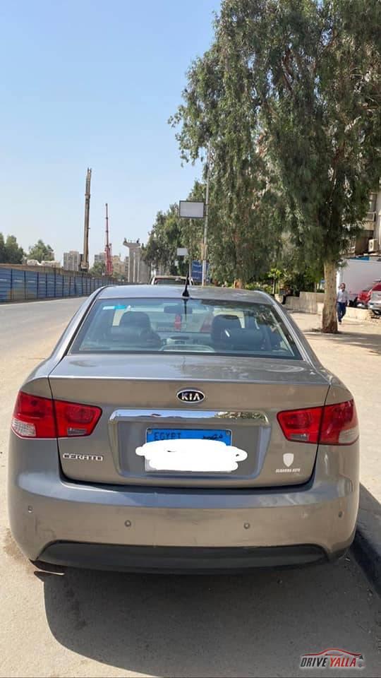 كيا سيراتو مستعملة للبيع فى مصر  ٢٠١٠