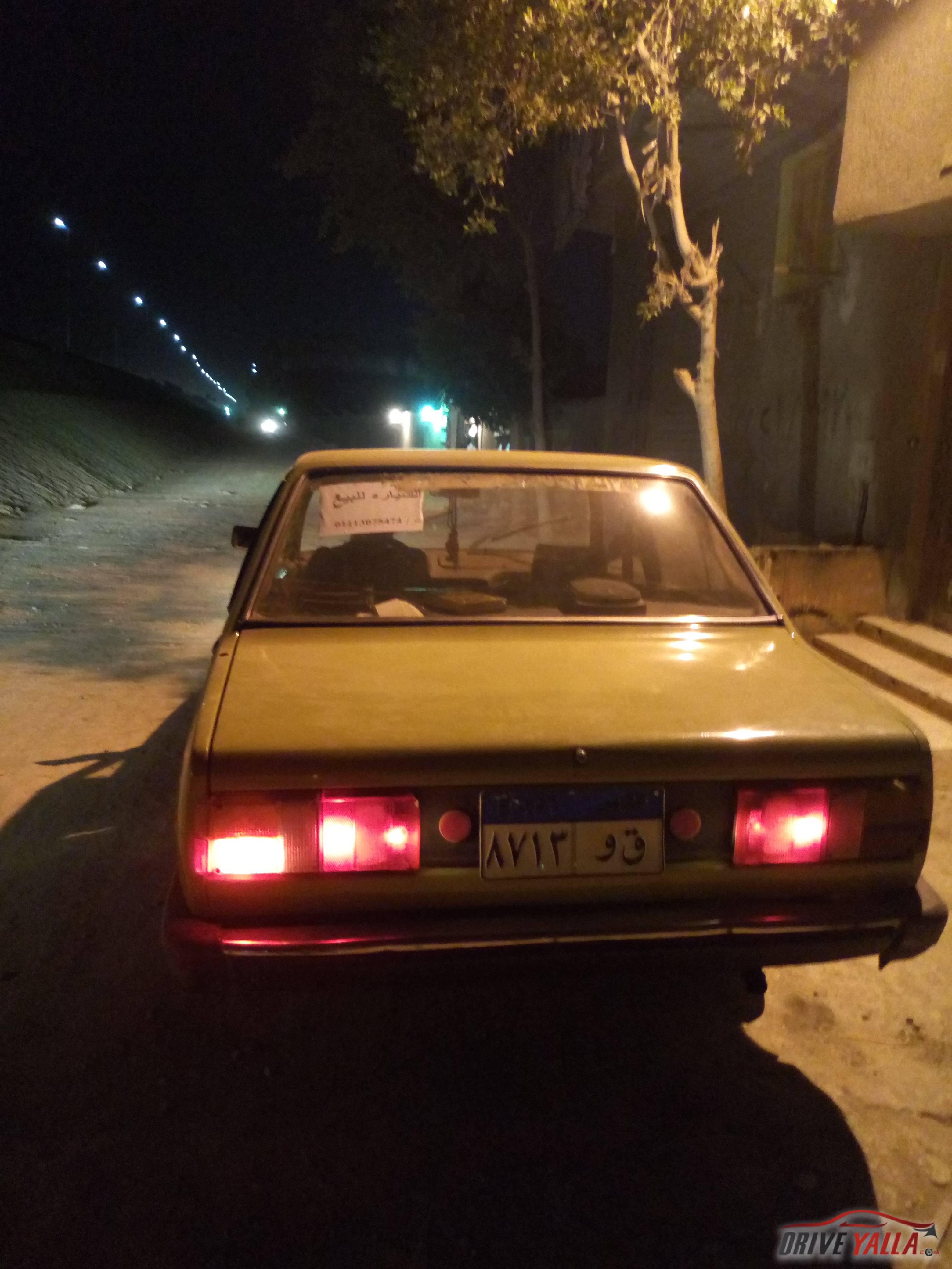 فيات 131 مستعملة  للبيع  فى مصر 1984