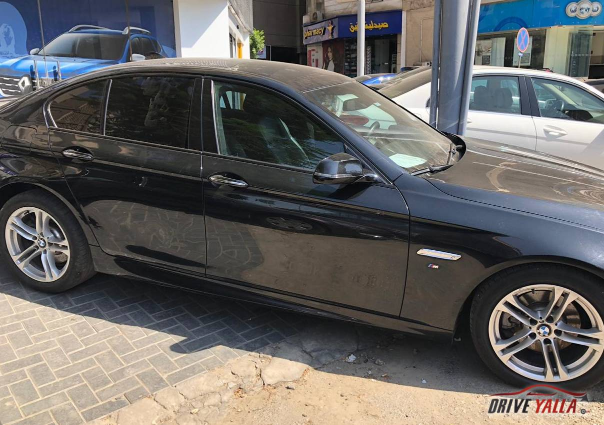 BMW 520 مستعملة للبيع فى مصر بالتقسيط   2017