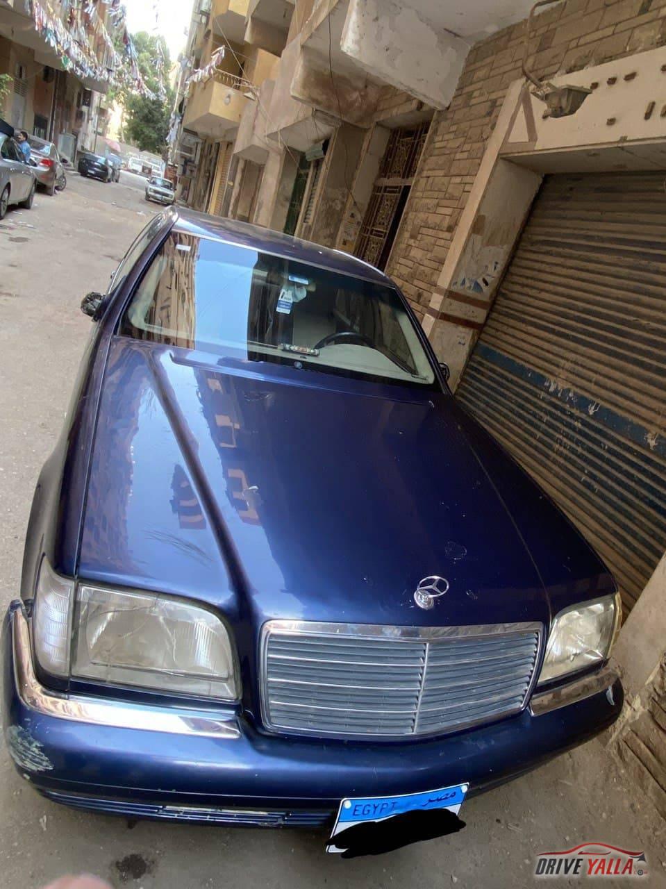 مرسيدس مستعملة للبيع فى مصر 1997