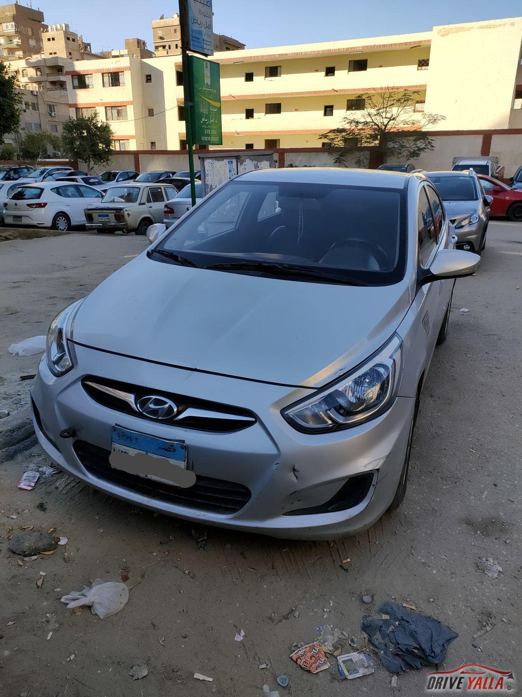 هيونداي اكسنت Rb مستعملة للبيع فى مصر 2015
