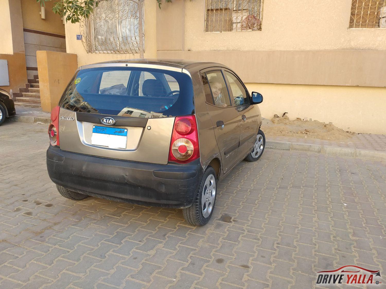 كيا بيكانتو  مستعملة للبيع فى مصر 2009