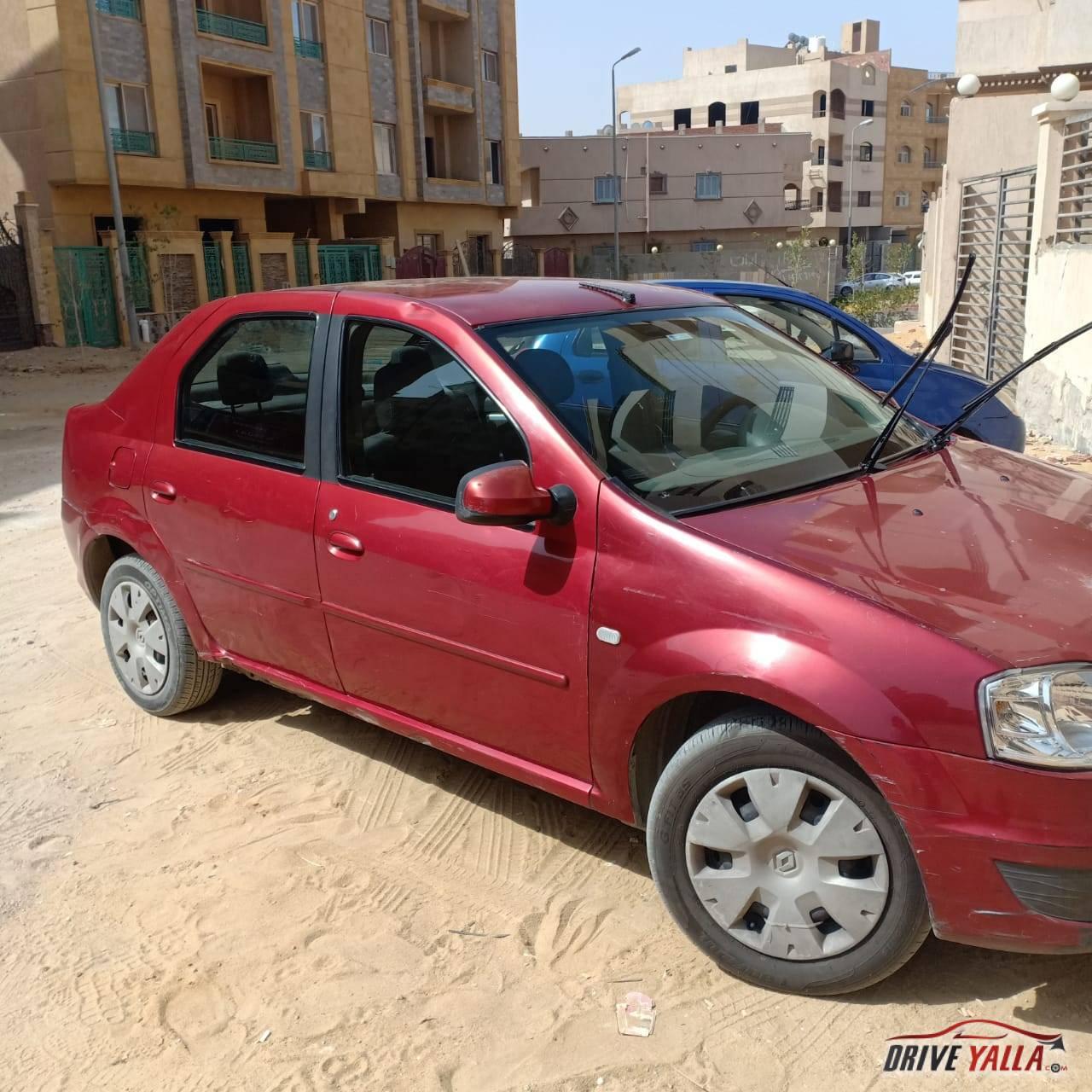 رينو لوجان مستعملة للبيع فى مصر 2010