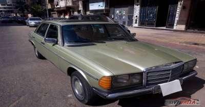 مرسيدس  200 مستعملة للبيع فى مصر  موديل 1984