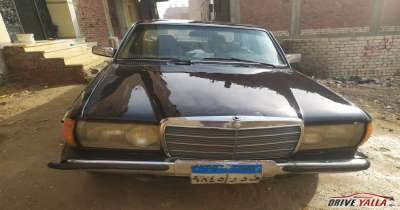 مرسيدس 200 مستعملة  للبيع  فى مصر 1980