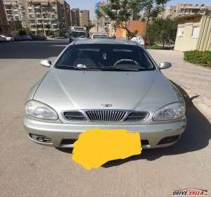 دايو لانوس ٢   مستعملة للبيع فى مصر  ٢٠٠١