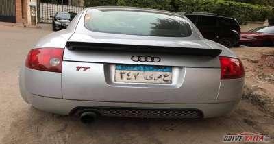 أودى  TT  مستعملة للبيع فى مصر 2002