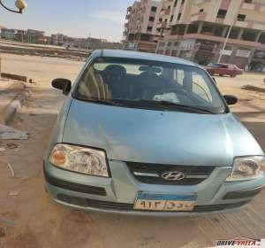 هيونداي اتوس  مستعملة  للبيع  فى مصر  2008