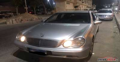مرسيدس بنز c180 مستعملة للبيع فى مصر  2002