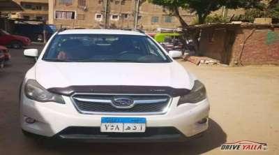 سوبارو xv مستعملة للبيع فى مصر بالتقسيط  2015