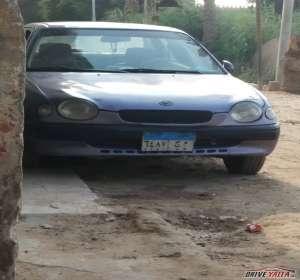 تويوتا كورولا مستعملة للبيع فى مصر   1998