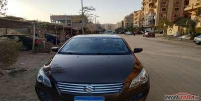 سوزوكى سياز مستعملة للبيع فى مصر بالتقسيط  2015